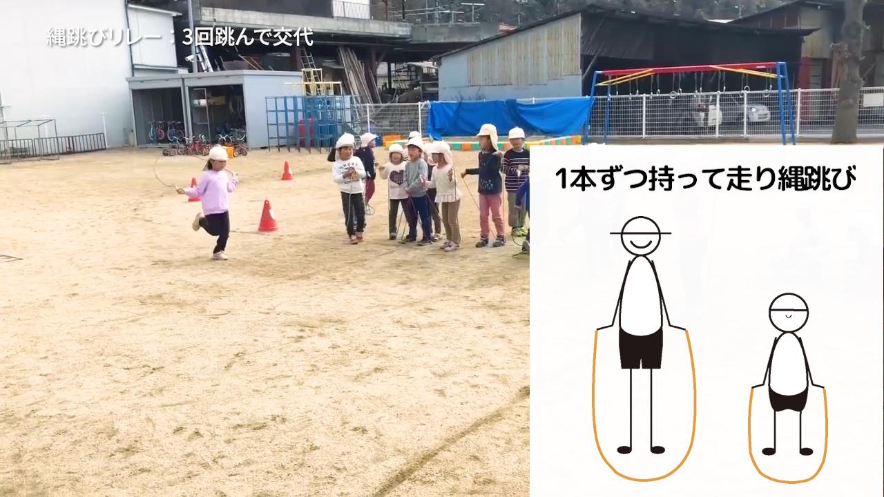 日常の遊びを親子競技にアレンジしよう(3.4.5歳児)Part1